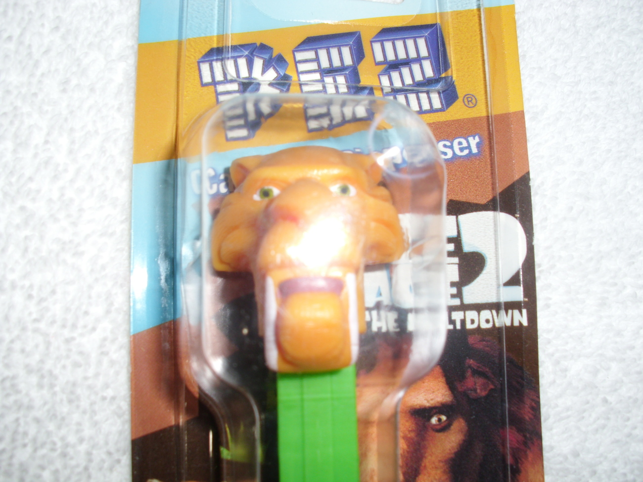 Ice Age 2 The Meltdown (DIEGO) Pez Candy Dispenser