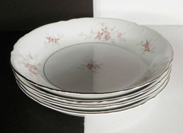 Mikasa Versailles Coupe Soup Bowl (S) Lot Of 4 Pink Roses Retired - $29.65