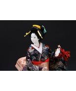 Beautiful Japanese GEISHA DOLL -traditional purcussion- Kyugetsu Product - $141.69