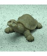 QUARRY CRITTERS TURTLE FIGURINE tortoise resin sculpture 2nd second natu... - $24.75