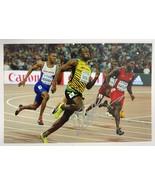 Usain Bolt Signed Autographed Glossy 4x6 Photo - London Olympics - $49.99
