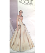 Vogue Bridal Original P928/2775 Renaissance Flare Skirt Wedding Gown Siz... - $35.00
