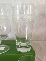 KATE SPADE NIB SET OF 4 ASSORTED BEER GLASSES SET OF 4 LIBRARY STRIPE LENOX image 5