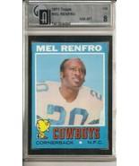 1971 Topps #118 Mel Renfro GAI 8 NM MT - $94.05