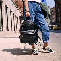 Sale, Full Grain Leather Women Backpack, Handmade Travel Backpack, School Backpa image 2