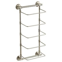 Delta 7.795 in. W Towel Roll Rack in Satin Nickel-HEXTN01-BN - $87.00