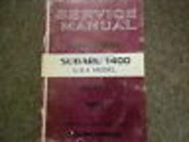1973 Subaru 1400 Service Repair Shop Manual Factory Feo Book 73 - $29.65