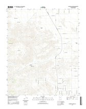 Topographic Map Poster - ELEMENTS CANYON, AZ TNM GEOPDF 7.5X7.5 GRID 240... - $23.20