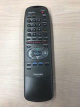 Toshiba VC-663T Remote Control Tested And Cleaned                     I1