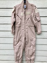 New Genuine Us Air Force Tan Nomex Fire Resistant Flight Suit CWU-27/P - 38S - $113.85