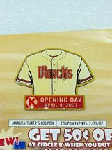MLB Arizona Diamondbacks Baseball Collector Lapel Pin - Opening Day April 2007 image 6