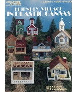 Friendly Village House Church Plastic Canvas Pattern/Instructions - $5.37