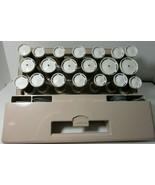 Clairol FV20 Deluxe Custom Care Setter Hairsetter Flocked Hot Rollers w/... - $24.74