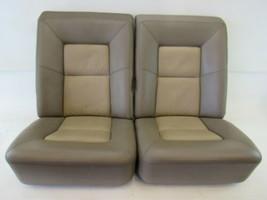 97 Mercedes C140 S600 CL600 CL500 seat cushion set, rear, mushroom, two-tone - $373.99