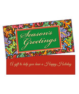 A Gift To Help ~ Christmas Holiday Gift Card or Money Holder - $4.75