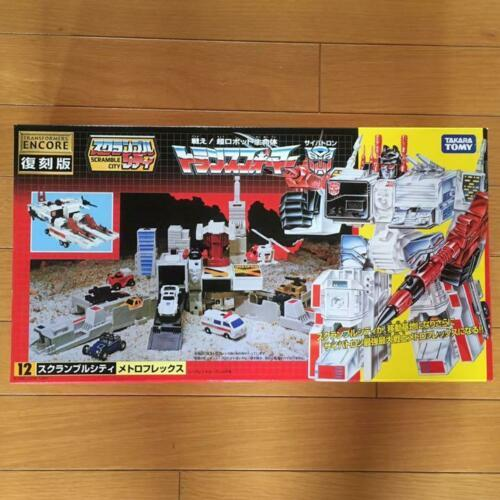 Primary image for Takara Tomy Transformers Encore Réimpression Scramble City 12 Metroplex Figurine