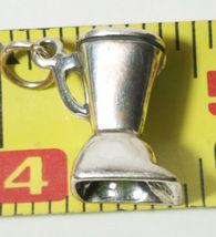 Kitchen Blender Sterling Silver Charm STAMPED 925  16x10mm 5 grams image 3