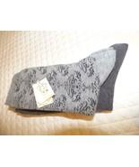 Gold Toe 2-Pk. Women's Damask Crew  Scalloped Edge Socks Gray/Charcoal - $6.19