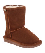 Kids Bearpaw Emma Short Hickory Il Pull On Winter Boots [608Y] - $43.99