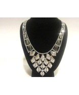 18k Italy 750 solid white gold necklace 21grams - $1,450.00