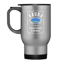 Aruba Flag Travel Mug - $21.99