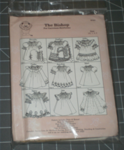The Bishop Pat Garretson Heirlooms Size 1/2, 1, 2, 3 uncut with direction sheets - $24.00