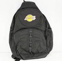 Los Angeles Lakers Sling Backpack Teardrop Black - ₹2,488.38 INR