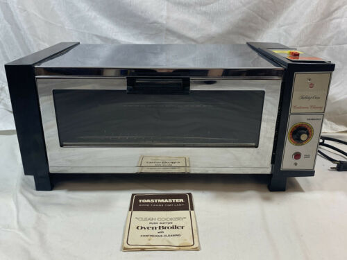 Vintage Toastmaster Chrome Table Top Oven Complete - $75.99