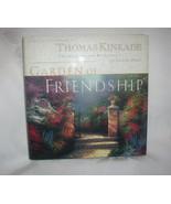 Thomas Kinkade Hardback Book Garden of Friendship Spiritual - $19.95