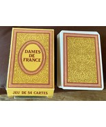 Vtg DAMES DE FRANCE GRIMAUD deck PLAYING CARDS game  MADE IN FRANCE - $19.99