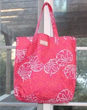 Lilly Pulitzer for Estee Lauder 14 x 16 x 3 Tote Shopping Beach Bag - $14.85