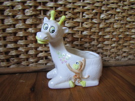 Old Giraffe and Monkey Planter - $15.00