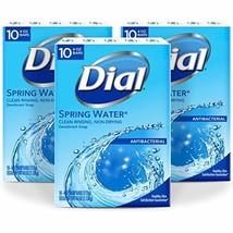 Dial Antibacterial Bar Soap, Spring Water, 30 Count - $45.95
