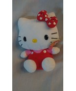 2009 TY Beanie Baby Hello Kitty 6 Inch Plush w/ Red Jumper and Tags - $7.19