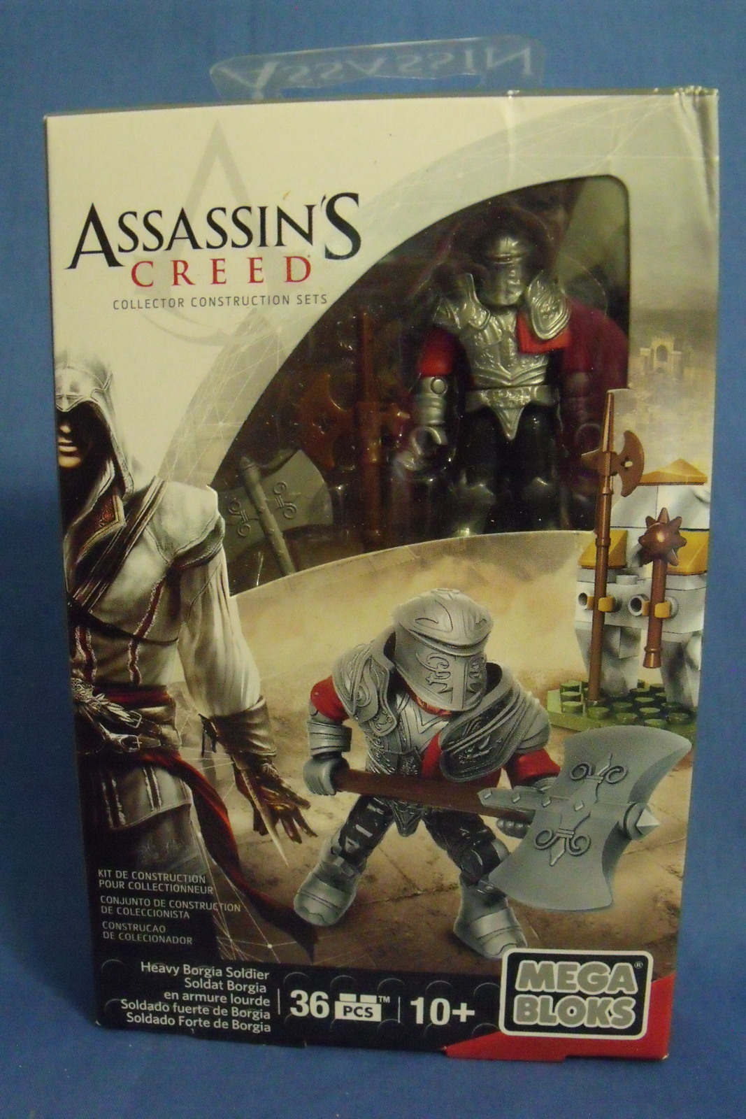 Toys Mega Bloks New Assassins Creed Heavy Borgia Soldier 36 Pcs