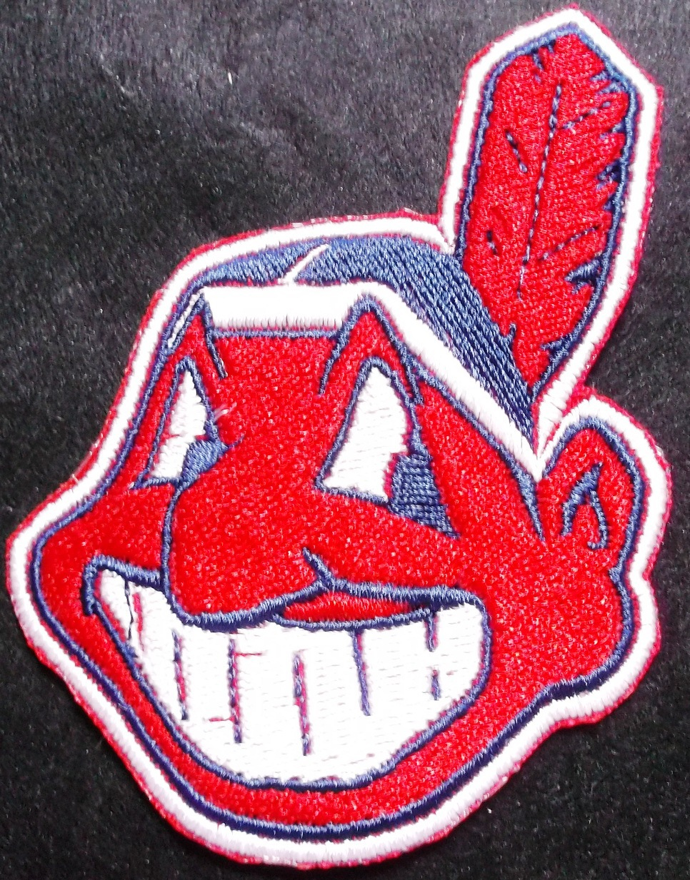 Cleveland indians logo iron on patch and 24 similar items biocorpaavc Choice Image