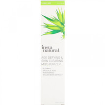 InstaNatural, Age Defying and Skin Clearing Moisturizer, Anti-Aging, 1.5... - $33.37