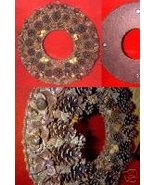 "14"" WREATH of Cones, Seed, Pods, Nuts - $39.99"