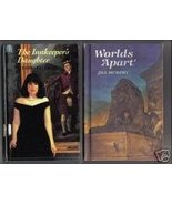 2 for Young GirIs - INNKEEPER'S DAUGHTER & WORLDS APART - $7.50