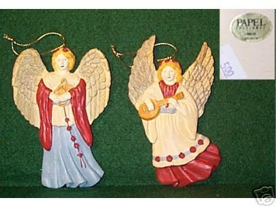 ANGEL Ornaments (2) Papel Freelance