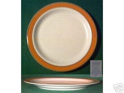 "One STONEWARE Dinner 10 3/4"" Plate - SAHARA 4122"