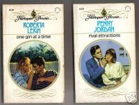 TWO Harlequins - ONE GIRL AT A TIME & RIVAL ATTRACTIONS