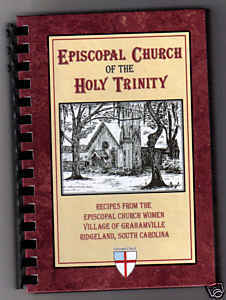 Cookbook Holy Trinity Episcopal Church FREE SHIPPING