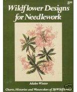29 WILDFLOWER Designs for NEEDLEWORK - $7.95