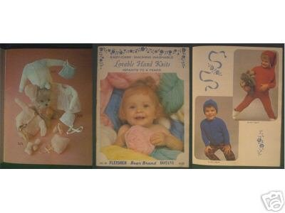 Patterns & INSTRUCTIONS - Hand Knits Infants to 4 Yrs