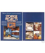 Better Homes & Gardens STORAGE PROJECTS YOU CAN BUILD - $5.95