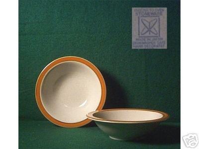 ONE Soup/Cereal BOWL Orange/Brown SAHARA Terra Cotta