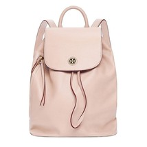 NEW TORY BURCH (43508) BRODY LIGHT OAK PEBBLED LEATHER BACKPACK BAG - $279.00
