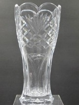 Hand cut square vase Made in USA Mt Pleasant PA - $56.35