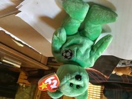 MWMT Ty Beanie Baby KICKS The Bear NEW RETIRED 1998 Plush Toy - ERRORS..... - $24.13